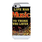 MUSIC iPhone 8/7 Tough Case