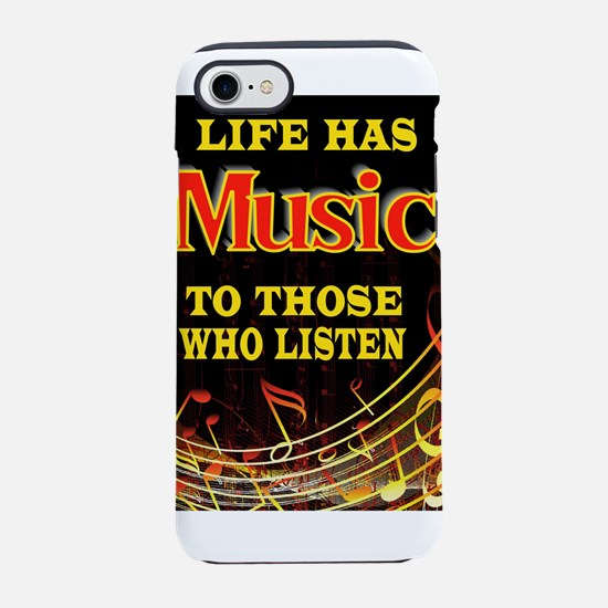 MUSIC iPhone 8/7 Tough Case