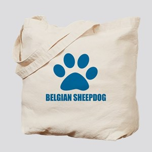 Belgian Sheep Dog Designs Tote Bag