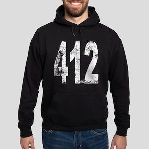 Pittsburgh Area Code 412 Hoodie