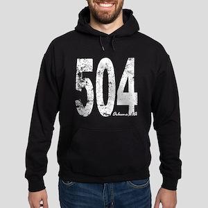 New Orleans Area Code 504 Hoodie