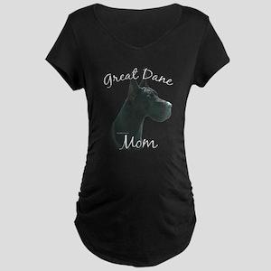 Dane Mom2 Maternity Dark T-Shirt