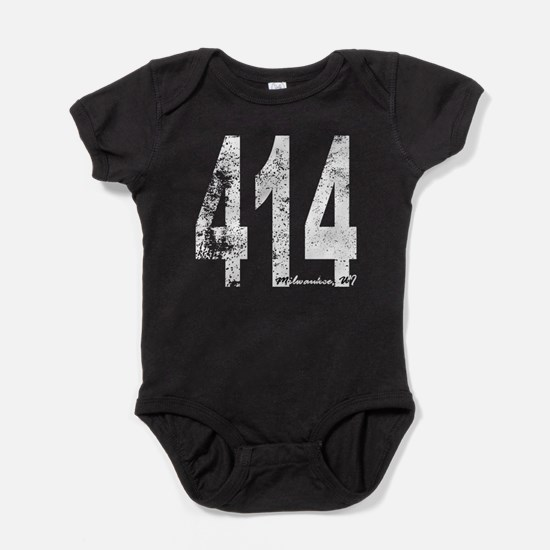 Milwaukee Area Code 414 Baby Bodysuit
