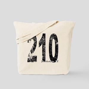 San Antonio Area Code 210 Tote Bag