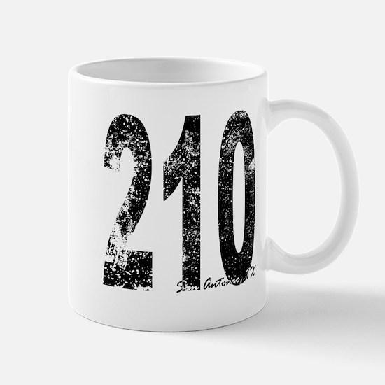 San Antonio Area Code 210 Mugs