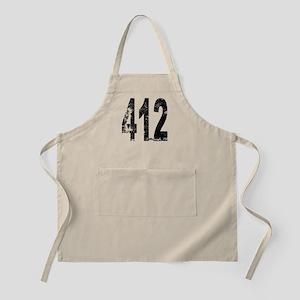 Pittsburgh Area Code 412 Apron