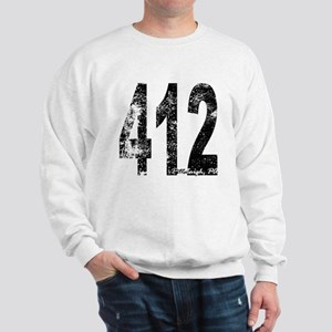 Pittsburgh Area Code 412 Sweatshirt