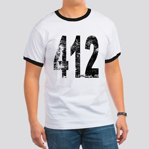 Pittsburgh Area Code 412 T-Shirt