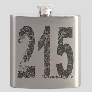 Philadelphia Area Code 215 Flask
