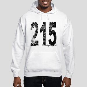 Philadelphia Area Code 215 Hoodie