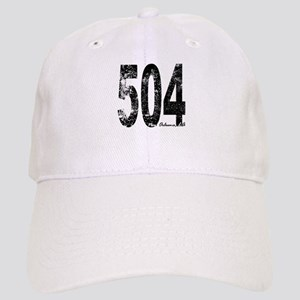 New Orleans Area Code 504 Baseball Cap