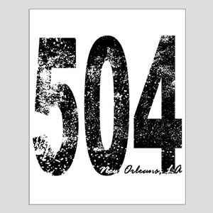 New Orleans Area Code 504 Posters