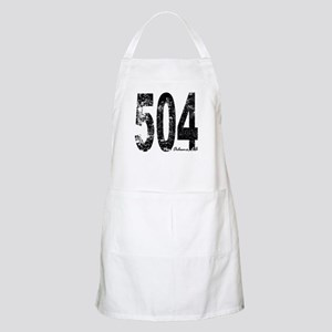 New Orleans Area Code 504 Apron
