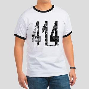 Milwaukee Area Code 414 T-Shirt