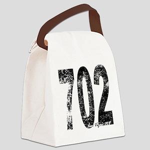 Las Vegas Area Code 702 Canvas Lunch Bag