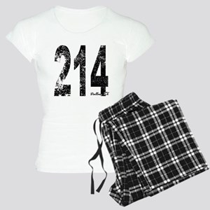 Dallas Area Code 214 Pajamas