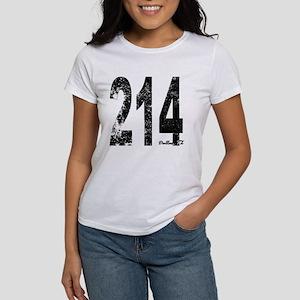 Dallas Area Code 214 T-Shirt