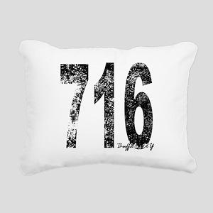 Buffalo Area Code 716 Rectangular Canvas Pillow
