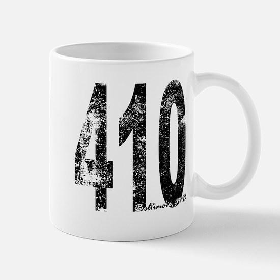 Baltimore Area Code 410 Mugs
