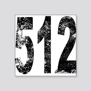 Austin Area Code 512 Sticker