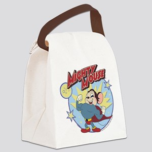 Mighty Mouse: Hero Pose Canvas Lunch Bag