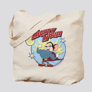 Mighty Mouse: Hero Pose Tote Bag