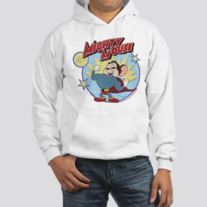 Mighty Mouse: Hero Pose Hooded Sweatshirt