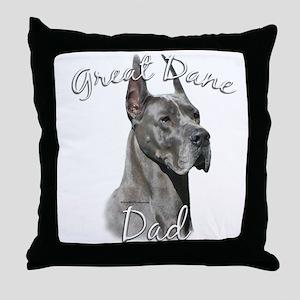 Dane Dad2 Throw Pillow