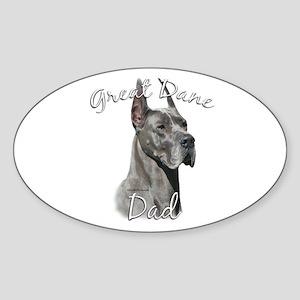 Dane Dad2 Oval Sticker