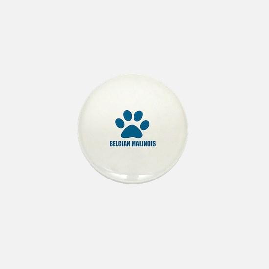 Belgian Malinois Dog Designs Mini Button