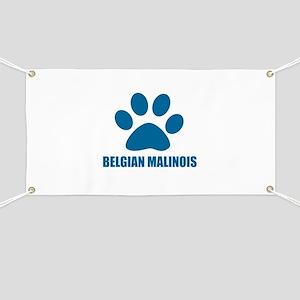 Belgian Malinois Dog Designs Banner