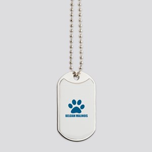 Belgian Malinois Dog Designs Dog Tags