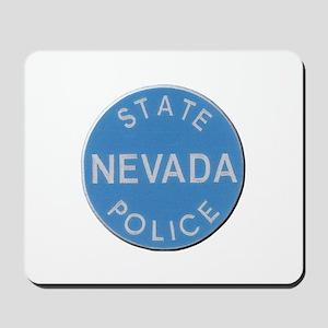 Nevada State Police Mousepad