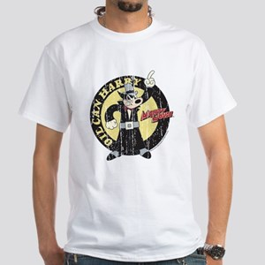Vintage Oil Can Harry White T-Shirt