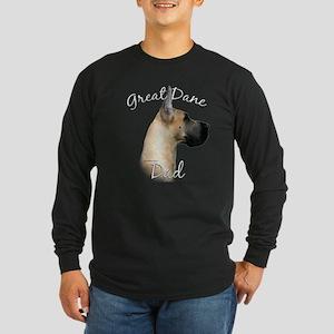 Dane Dad2 Long Sleeve Dark T-Shirt