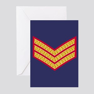 British Sergeant<BR> Note Cards Pack 2