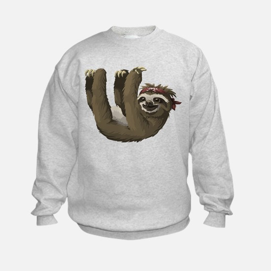 skull sloth Sweatshirt