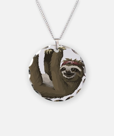 skull sloth Necklace