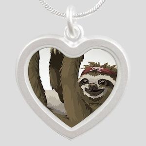 skull sloth Necklaces