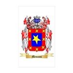 Menconi Sticker (Rectangle 50 pk)