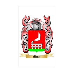 Menci Sticker (Rectangle 10 pk)
