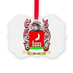 Menchi Picture Ornament