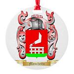 Menchetto Round Ornament