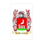 Menchetto Sticker (Rectangle)