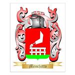Menchetto Small Poster