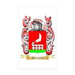 Menchetti Sticker (Rectangle 50 pk)