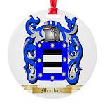 Menchaca Round Ornament