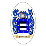 Menchaca Sticker (Oval)