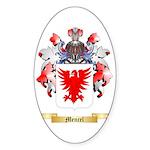 Mencel Sticker (Oval 10 pk)