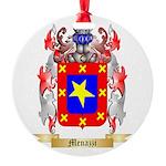 Menazzi Round Ornament